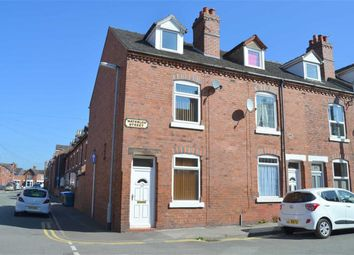 Thumbnail 3 bedroom end terrace house to rent in Waterloo Street, Leek