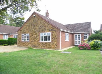 Thumbnail 3 bed detached bungalow for sale in School Road, Middleton, King's Lynn
