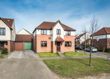 Thumbnail 4 bed detached house for sale in Dulverton Drive, Furzton, Milton Keynes