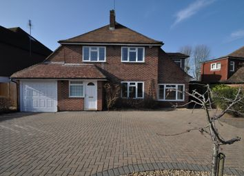 Thumbnail 4 bed detached house to rent in Marlyns Drive, Burpham, Guildford