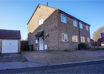 Thumbnail 3 bed semi-detached house for sale in Sellers Grange, Peterborough