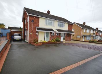 Thumbnail 3 bedroom semi-detached house for sale in Wombridge Road, Trench, Telford