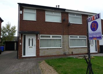 Thumbnail 2 bedroom semi-detached house to rent in Millfield Drive, Worsley, Manchester