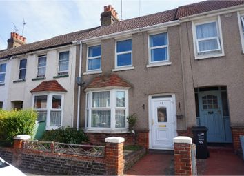 Thumbnail 3 bedroom terraced house for sale in Hastings Avenue, Margate