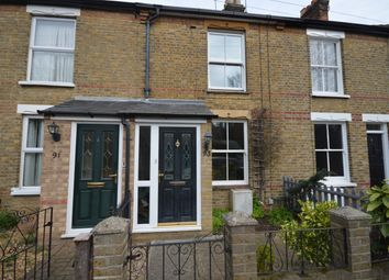 Thumbnail 2 bedroom terraced house for sale in Bradford Street, Chelmsford
