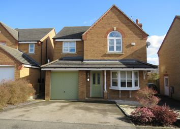 Thumbnail 4 bed detached house to rent in Newmarket Close, Corby