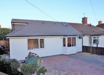 Thumbnail 4 bed bungalow for sale in The Oval, Stoney Stanton, Leicestershire