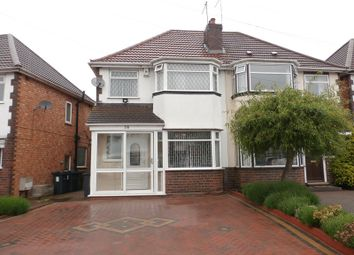Thumbnail 3 bed semi-detached house for sale in Deepdale Avenue, Sheldon, Birmingham