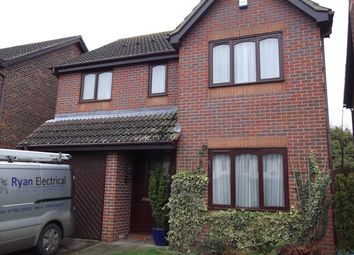 Thumbnail 4 bed detached house to rent in Worcester Way, Attleborough