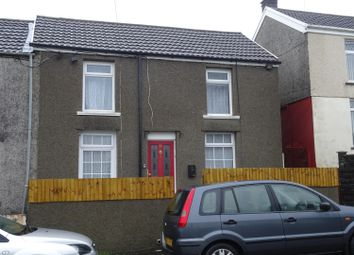 Thumbnail 2 bed semi-detached house to rent in Gelliarael Road, Gilfach Goch, Porth