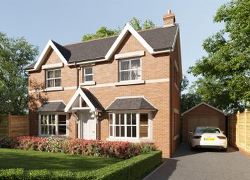 Thumbnail 3 bed detached house for sale in Plot 22, Maes Helyg, Vicarage Road, Llangollen