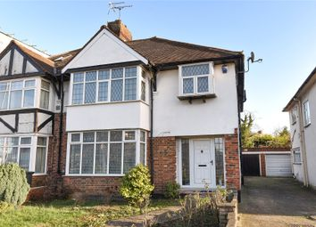 Thumbnail 3 bed semi-detached house for sale in Watford Way, Mill Hill
