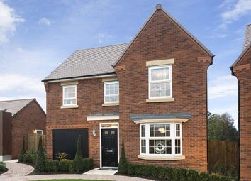 "Thumbnail 4 bed detached house for sale in ""Millford"" at Lightfoot Lane, Fulwood, Preston"
