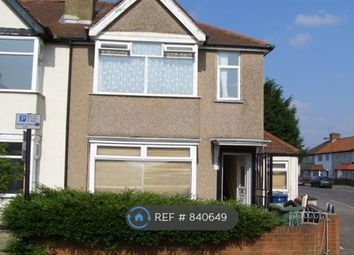 Thumbnail 1 bed flat to rent in Spencer Road, Harrow