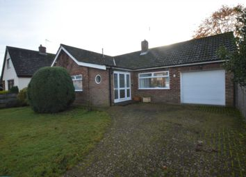 Thumbnail 3 bed detached bungalow for sale in Bradshaw Road, Drayton, Norwich