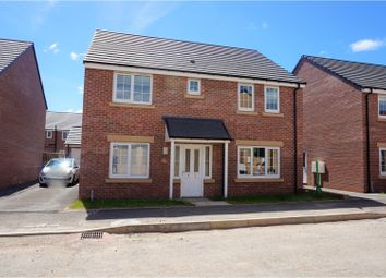 Thumbnail 4 bed detached house for sale in Wentworth Way, Ashington