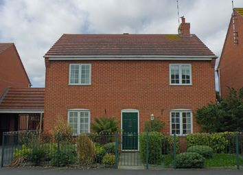 Thumbnail 4 bed detached house to rent in Glover Road, Castle Donington, Derby