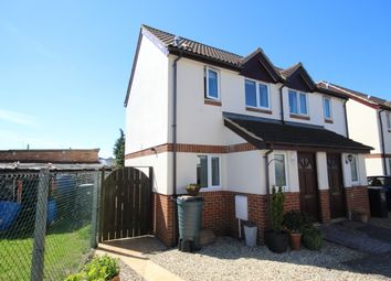 Thumbnail 2 bed semi-detached house for sale in Loxleigh Gardens, Bridgwater