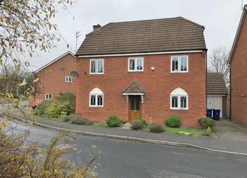 Thumbnail 4 bed detached house for sale in Wrens Croft, Cannock, Staffordshire