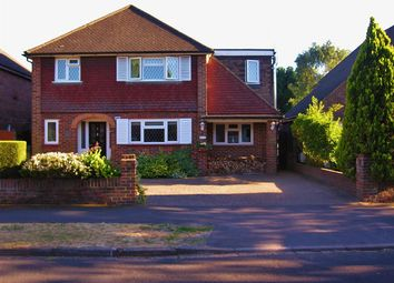 Thumbnail 4 bed detached house for sale in Lane End Drive, Knaphill, Woking