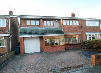Thumbnail 4 bed semi-detached house for sale in Mitford Road, South Shields