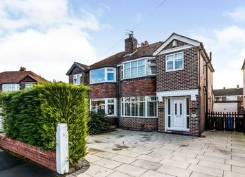Thumbnail 3 bed semi-detached house for sale in Oulton Avenue, Sale, Greater Manchester