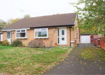 Thumbnail 2 bed bungalow for sale in Rycote Close, Swindon