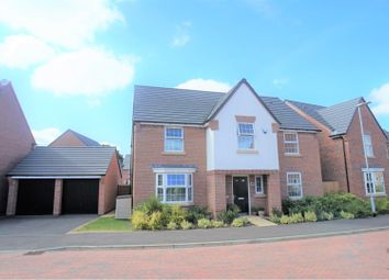 Thumbnail 4 bed detached house for sale in Severus Crescent, North Hykeham
