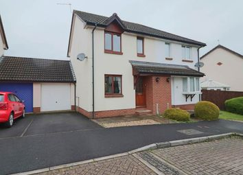 Thumbnail 2 bed semi-detached house for sale in Parkers Hollow, Roundswell, Barnstaple