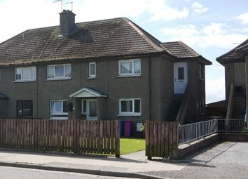 Thumbnail 2 bedroom flat to rent in St Gerardine's Road, Lossiemouth
