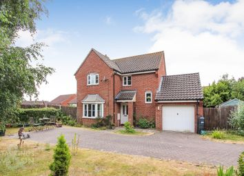 Thumbnail 3 bed detached house for sale in Station Drive, Reedham, Norwich