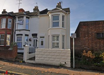 Thumbnail 3 bed end terrace house for sale in Rock Avenue, Gillingham