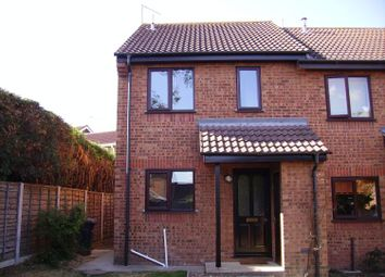 Thumbnail 2 bed end terrace house to rent in Wainford Close, Worlingham, Beccles
