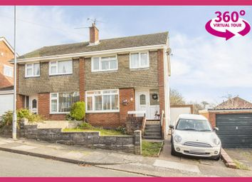 Thumbnail 3 bed semi-detached house for sale in Monkstone Rise, Rumney, Cardiff