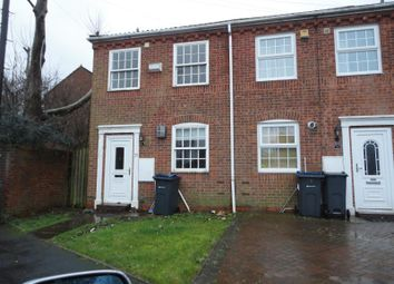 Thumbnail 2 bed town house to rent in Parker Street, Edgbaston