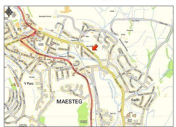 Thumbnail Land for sale in Bridgend Road, Maesteg - Residential Development Site