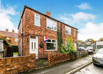 3 bed semi-detached house for sale in Count De Burgh Terrace, South Bank, York, North Yorkshire YO23