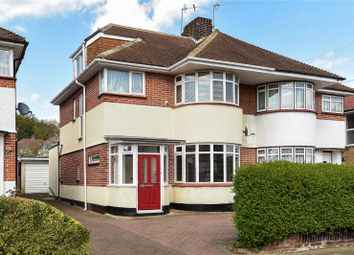 Thumbnail 4 bedroom semi-detached house for sale in St Edmunds Drive, Stanmore, Middlesex