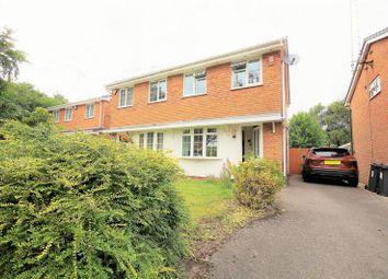 Thumbnail 2 bed semi-detached house for sale in Raddlebarn Farm Drive, Selly Oak, Birmingham