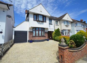 Thumbnail 4 bedroom semi-detached house for sale in Ambleside Drive, Southend-On-Sea