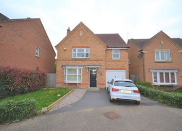 Thumbnail 4 bedroom detached house to rent in Kinchley Close, Bradgate Heights, Leicester