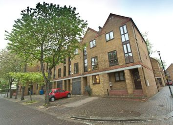 Thumbnail 4 bed terraced house to rent in Brunswick Quay, London