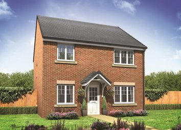 "Thumbnail 4 bed detached house for sale in ""The Knightsbridge"" at Lodge Road, Cranfield, Bedford"