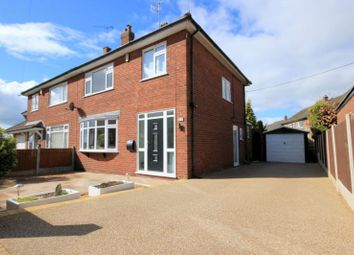 Thumbnail 3 bed semi-detached house for sale in Perthy Grove, Trentham, Stoke-On-Trent