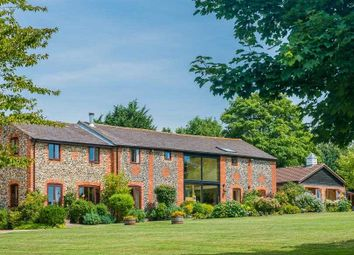 Thumbnail 5 bed barn conversion for sale in Melford Road, Lawshall, Bury St. Edmunds