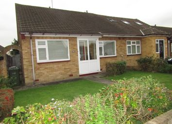 Thumbnail 2 bedroom semi-detached bungalow for sale in Canberra Close, Hornchurch, London