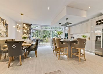 Thumbnail 5 bed terraced house for sale in St. Georges Avenue, Weybridge, Surrey