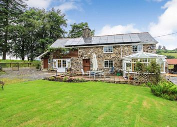Thumbnail 4 bed detached house for sale in Cefn Coch, Welshpool, Powys