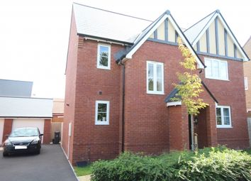 Thumbnail 4 bed detached house for sale in Cristata Way, Bridgwater
