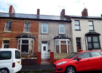 Thumbnail 2 bedroom terraced house for sale in Annesley Road, Newport, Gwent.